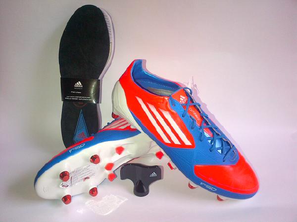 Adidas F50 adizero XTRX SG blue sz 40 2/3