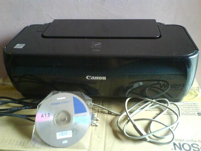 Printer Canon pixma ip1800 & HP Deskjet 3535 Mulus Bandung