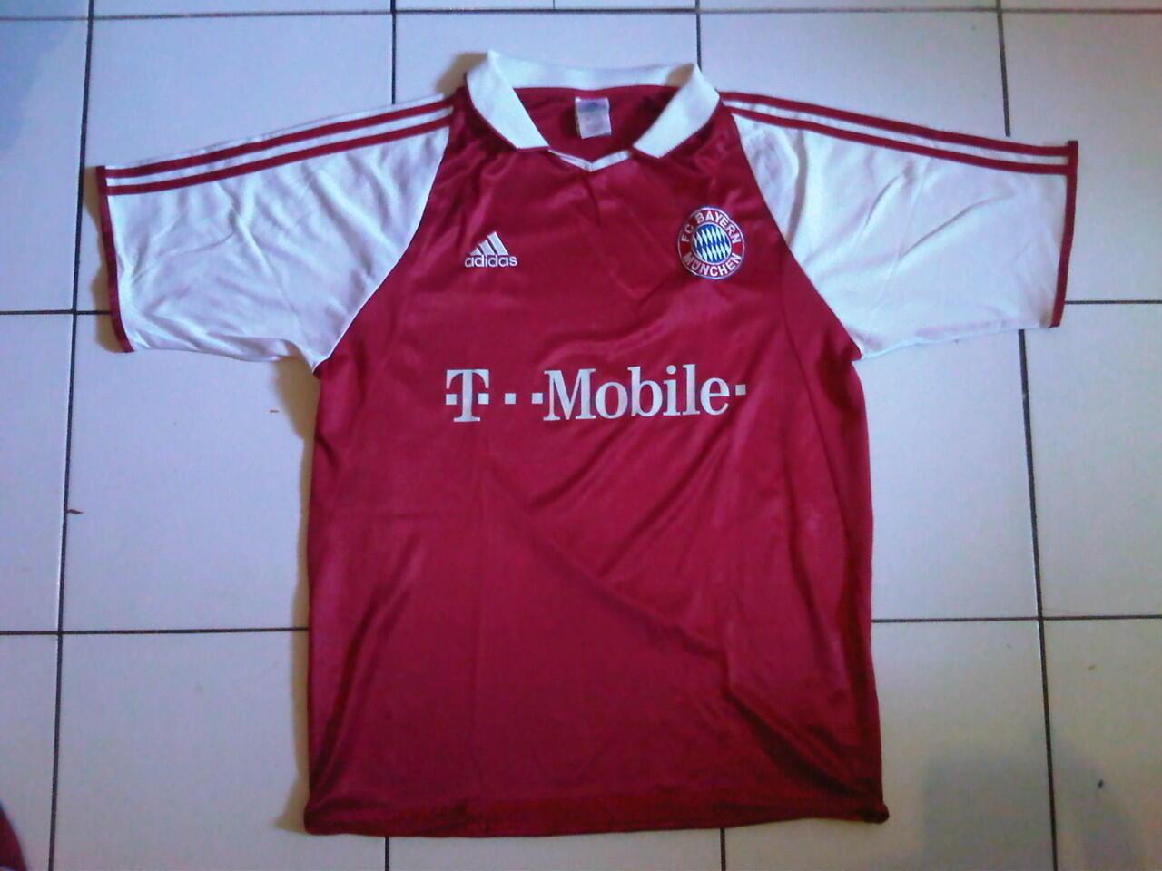 baju bola/jersey BAYERN MUNCHEN 2003/04 ORIGINAL