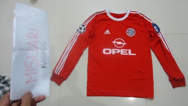Jersey Bayern Munchen Home 2000 - 2001