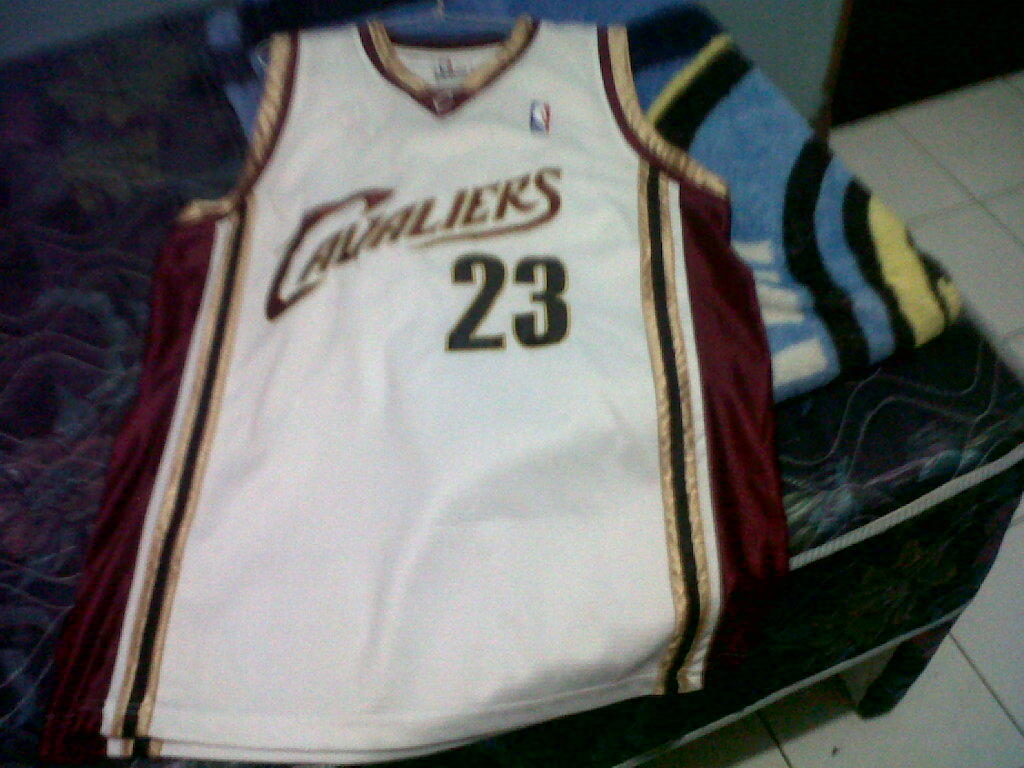 Jersey NBA Cleveland Cavaliers #23 JAMES