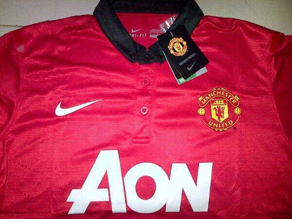 [WTS] Jersey Liverpool Home 2013/14 & Jersey Man.Utd Home 2013/14 100rb-an
