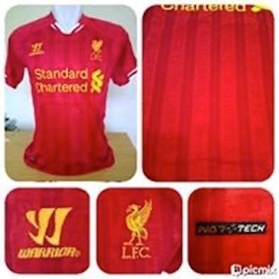 READY STOCK JERSEY OFFICIAL LIVERPOOL HOME NEW SEASON 2013/2014
