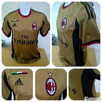 READY STOCK JERSEY OFFICIAL AC MILAN AWAY 3RD NEW SEASON 2013/2014