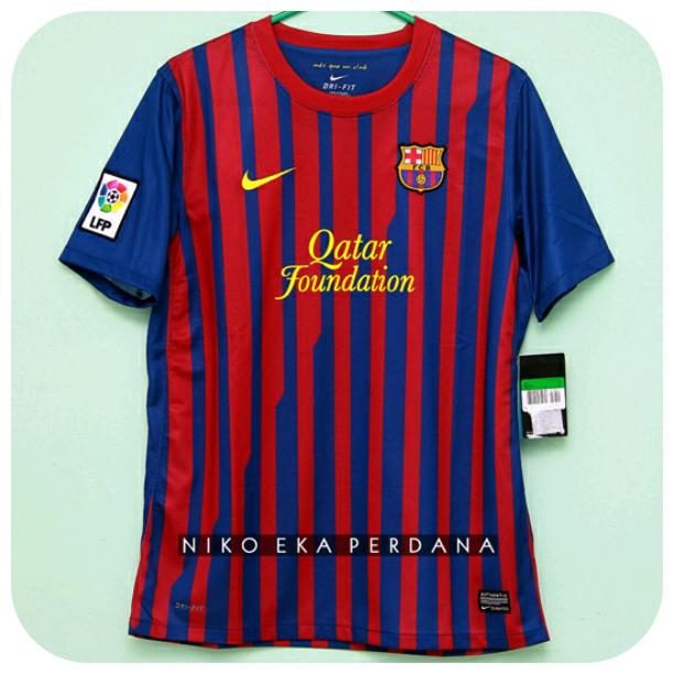 Jersey Barcelona home 2011-2012 original