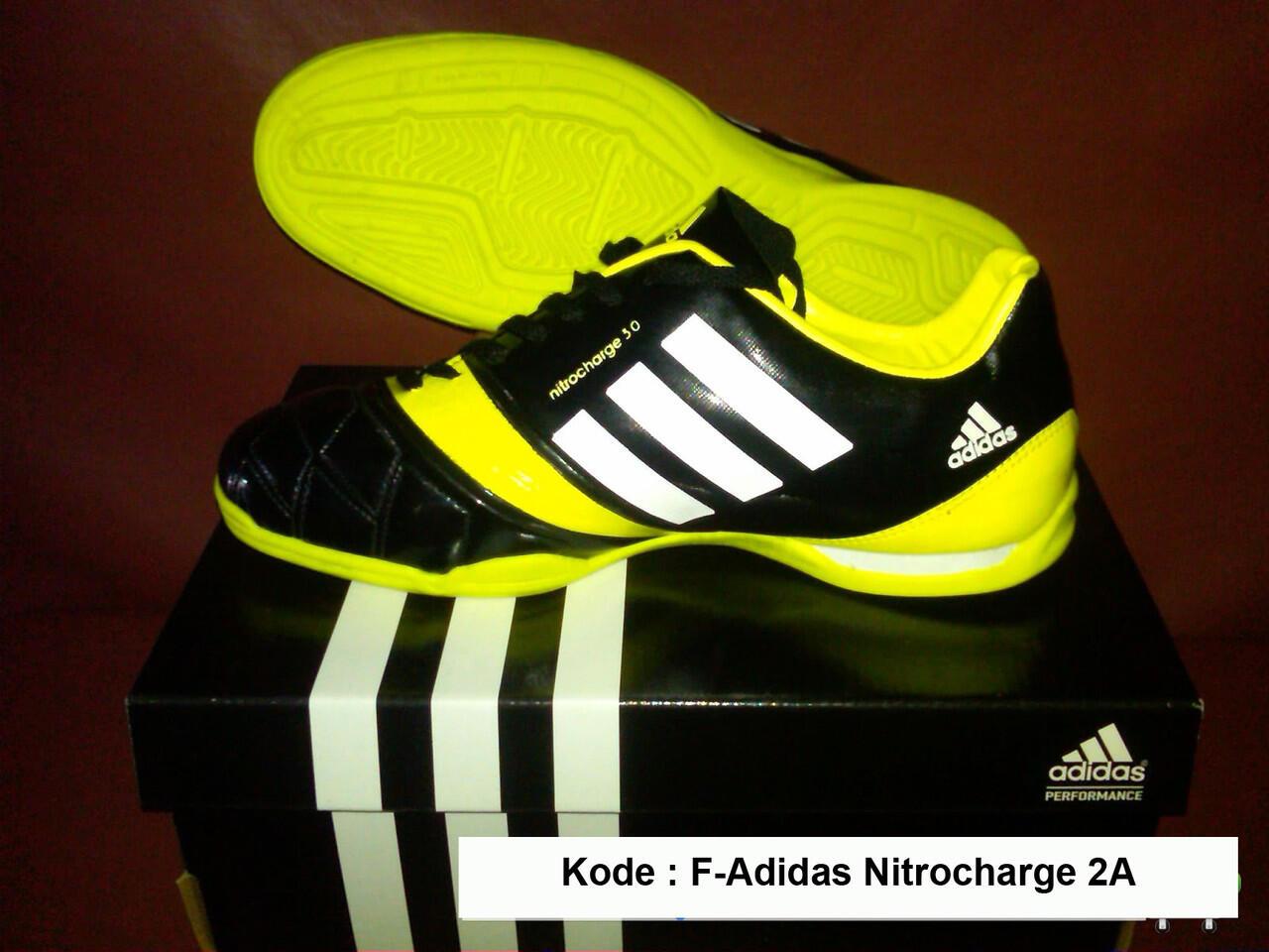 New Adidas NitroCharge 3.0 Futsal - Import Vietnam