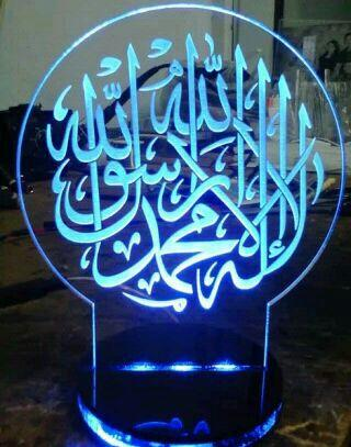 jual lampu hias acrylic