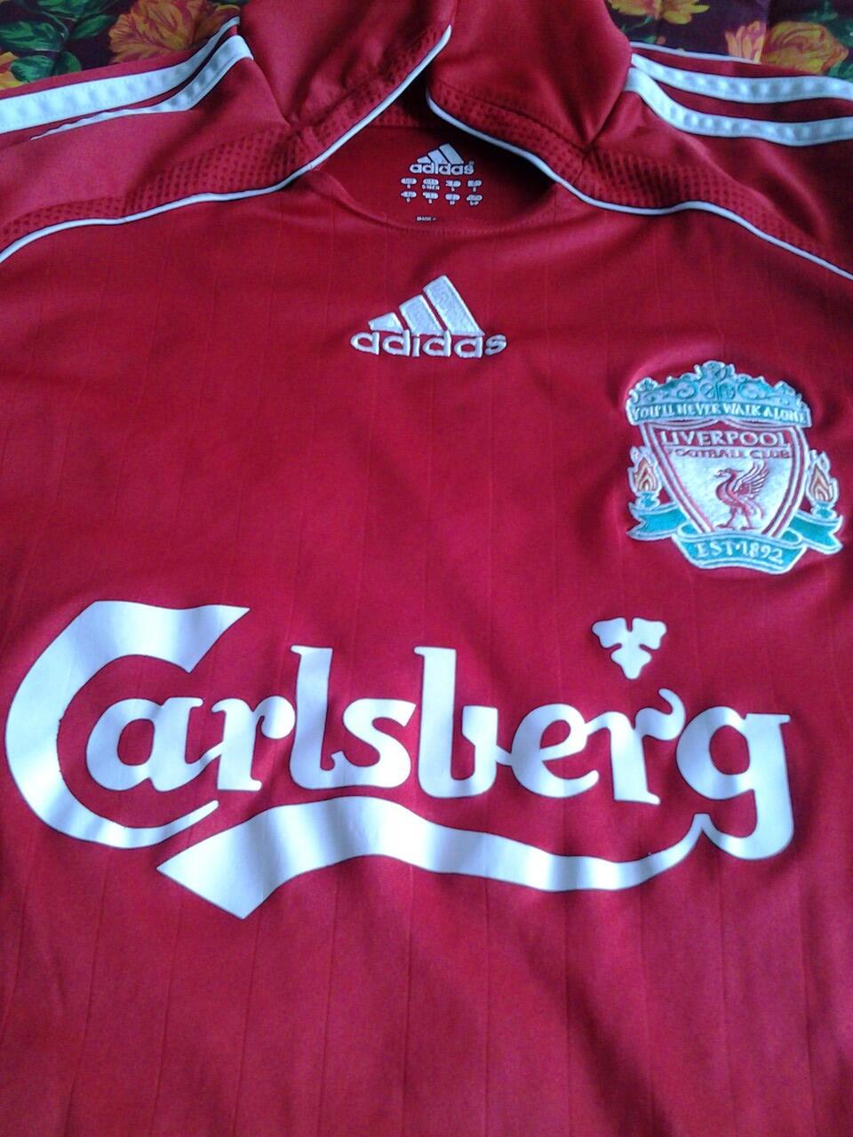 Liverpool Home S 2006 - 2007 original adidas mulus bogor