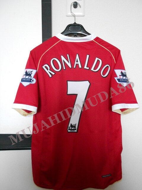 Jersey MU home 2006-2007 - Ronaldo & Friends