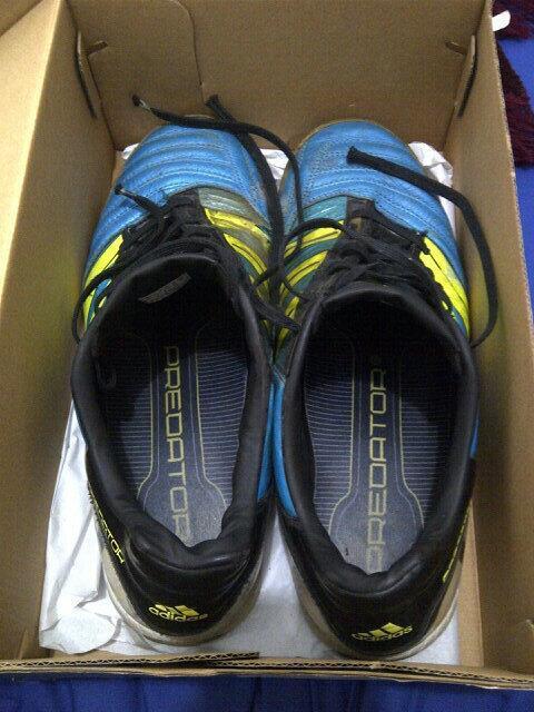 [WTS] Sepatu Adidas Predator Size 43 Second Murah