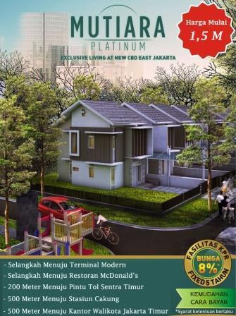 Perumahan Eksklusif Mutiara Platinum By Bakrieland