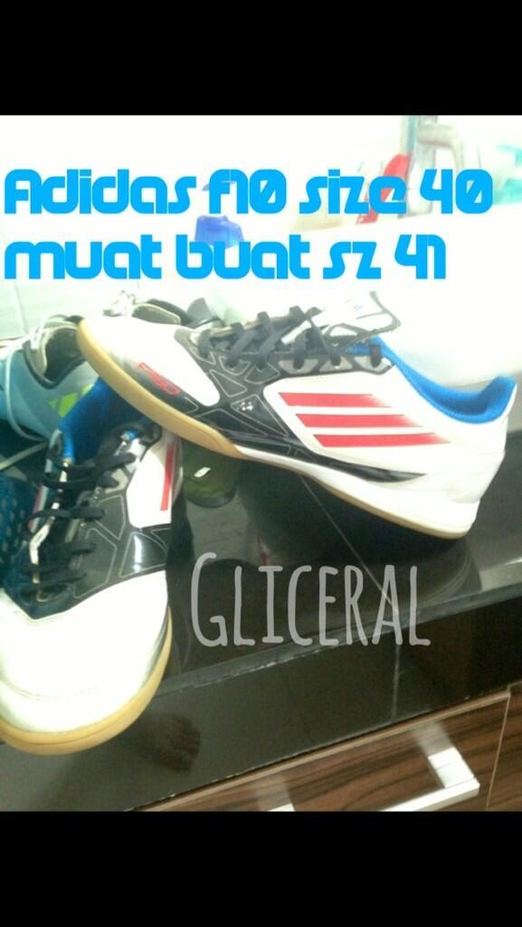 WTS 2nd like new!\\adidas f10,adidas lz absolado// WITH BOX ORI