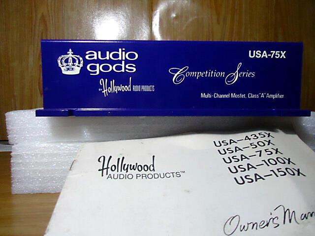 POWER AUDIO GODS USA-75X MADE IN USA (malang)