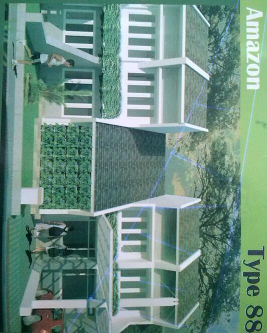 Jual Rumah Baru Minimalis di dekat tol Pasteur Bandung