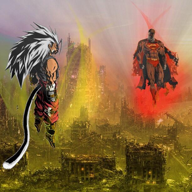 7 Persamaan Man of Steel dan Dragon Ball