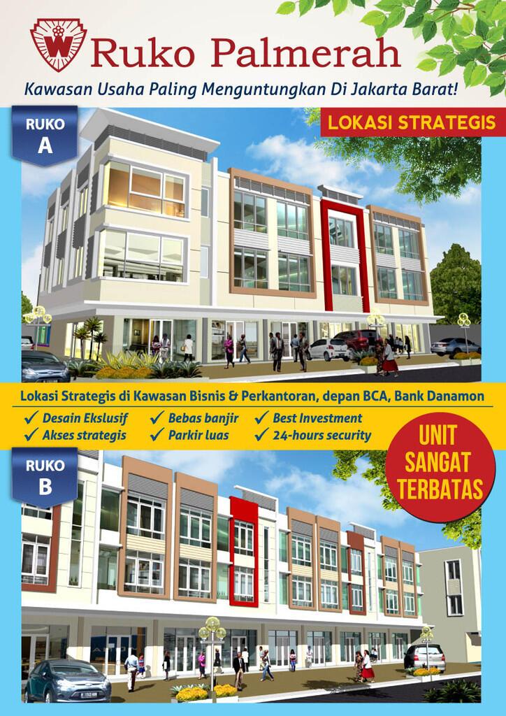 Ruko Palmerah Business Center Jakarta Barat