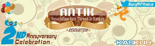 [FR] 2nd Anniversary ANTIK & Buka Puasa Bersama 2013