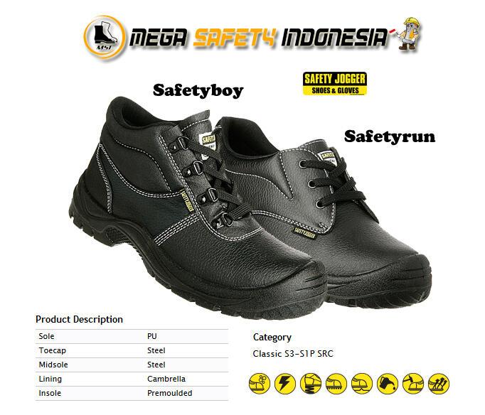 Safety Jogger - Murah Tapi Original