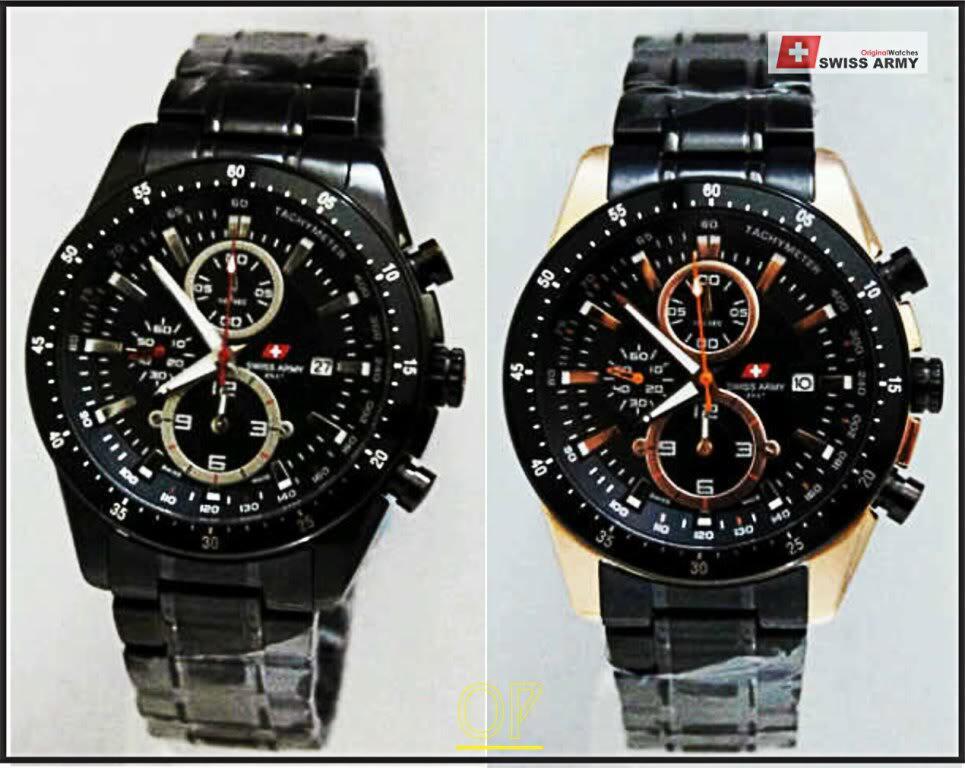 ane lagi cari jam tangan swiss army kw atau replika no ori 2nd its okay