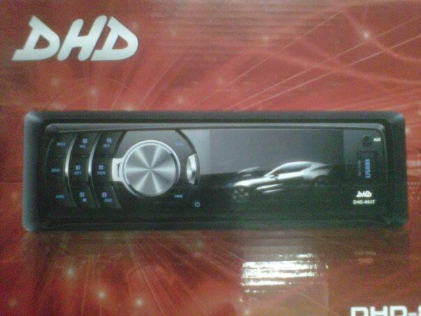dvd/tv mobil SingleDin layar mini 3inch DHD-883T. bandung (car audio panggilan)