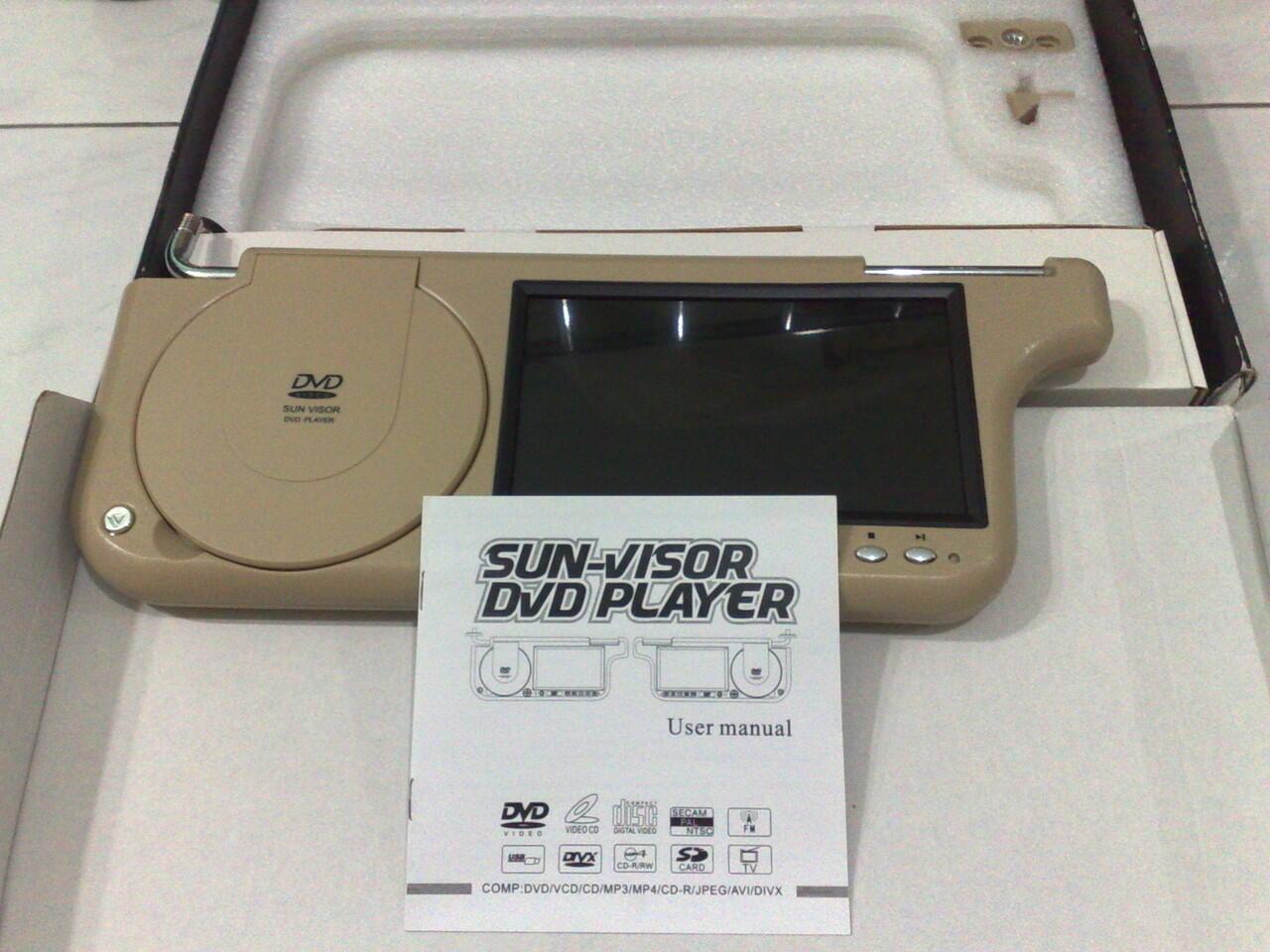 SUN VISOR DVD Player