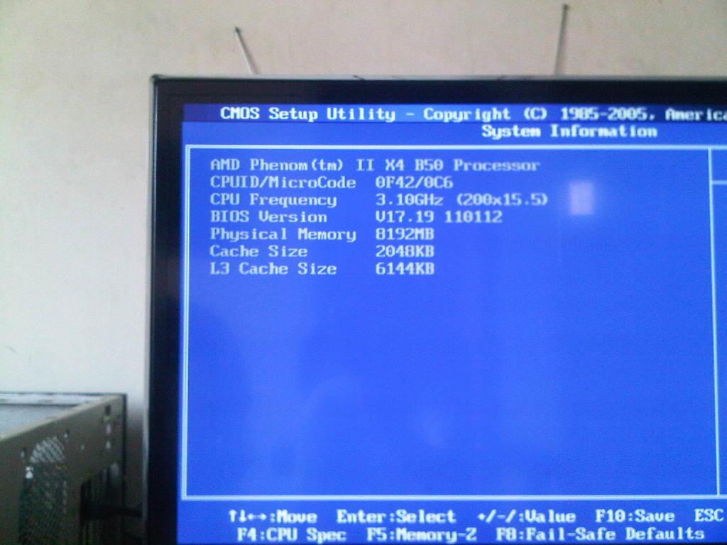 [Rare Item] AMD Phenom II X2 550 Unlock Stabil ke Quadcore Phenom X4 B50