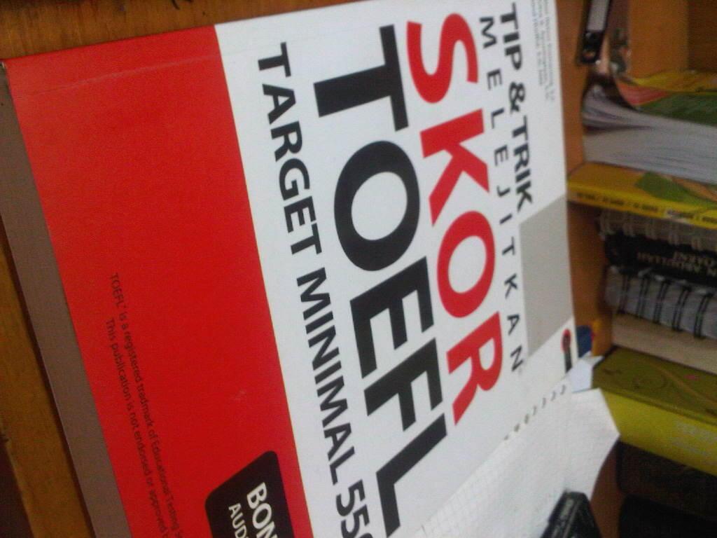 [BU] Buku strategi mengerjakan TOEFL