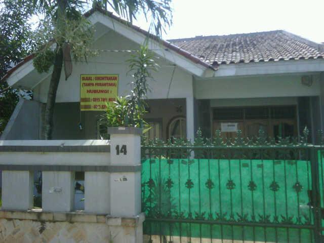Rumah Karang tengah ciledug 189m2 SERTIFIKAT HAK MILIK