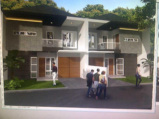 BANDUNG, rumah modern minimalis, geger kalong