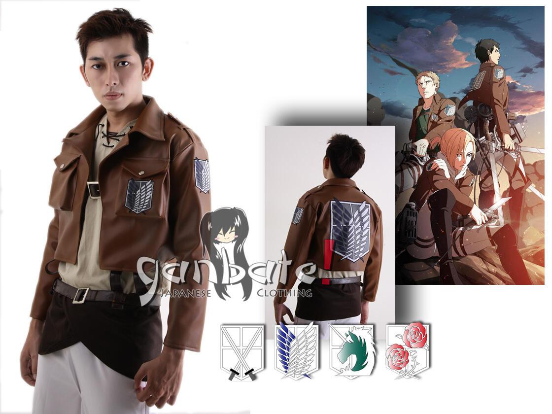 Attack on Titan (Shingeki no Kyojin) Jacket Version - dari Anime yg lagi HOOOOT !!