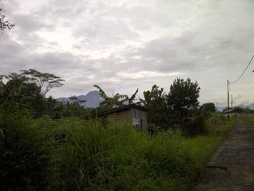 DIJUAL Rumah Villa di BOGOR View Langsung Gunung Salak