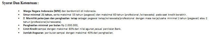 KPR Mandiri Area Kota Malang