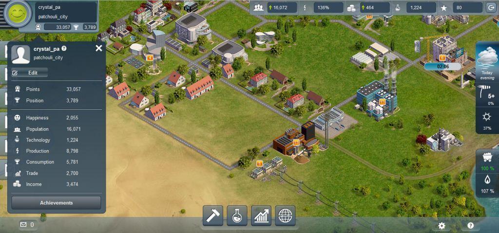 [Web Base Game] Energy Management : Power Matrix
