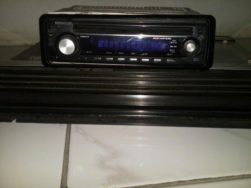 WTS HEAD UNIT KENWOOD MP3, POWER, TV SLIDE