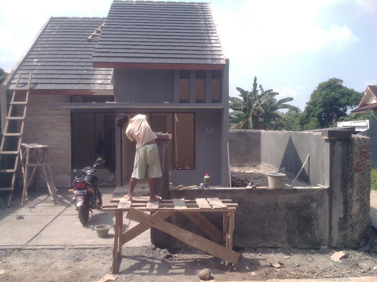 Rumah type 45/136 di depok yang asri dan nyaman seharga rumah type 36