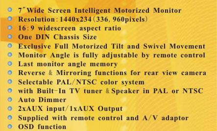 JUAL Monitor audio Rhoson TVM-779 bisa tv tuner (kondisi 90%) SUPER MULUS,JUAL MURAH