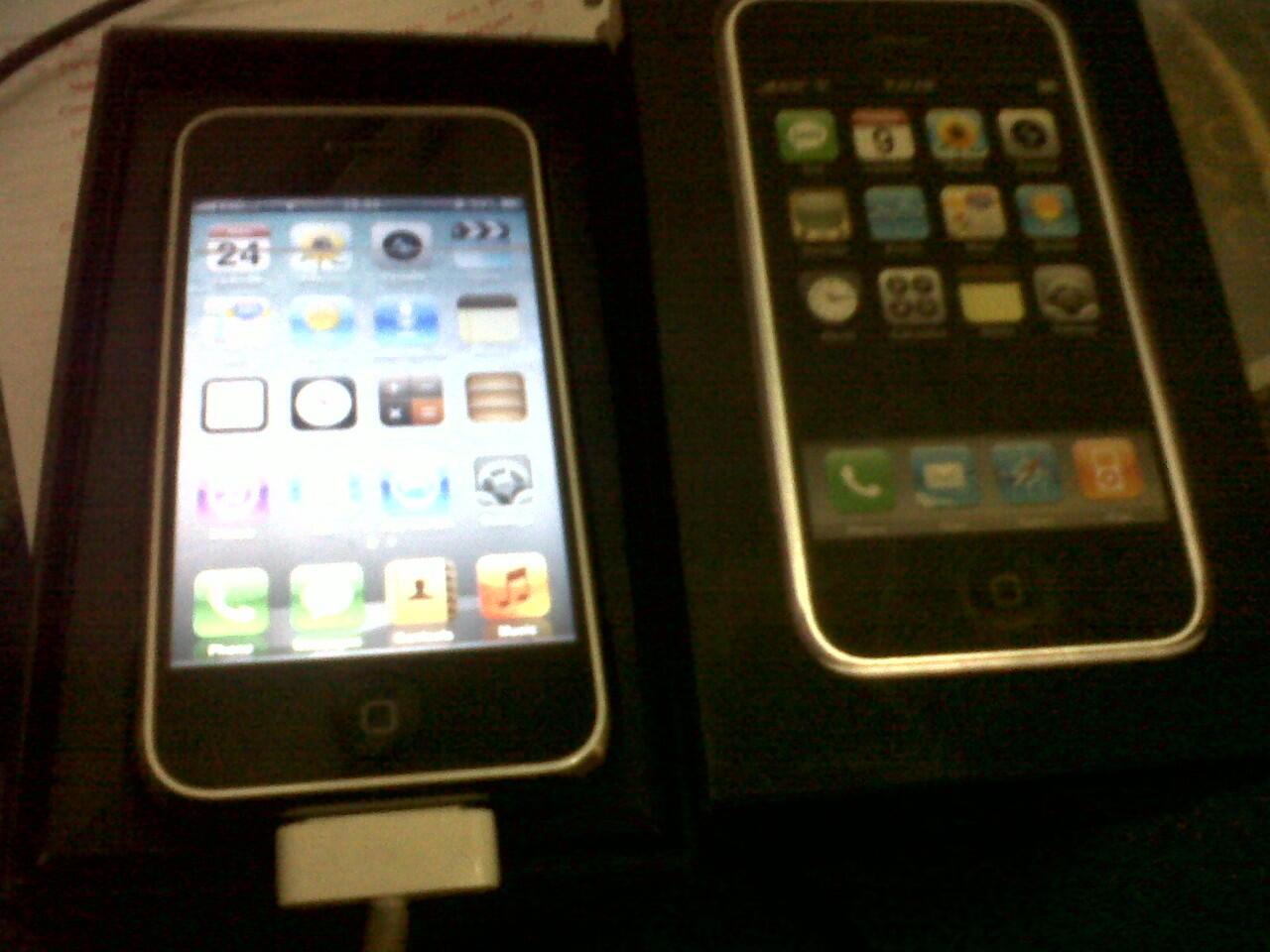 Jual iphone 2G Dusbuk, 800ribuan (Bandung)