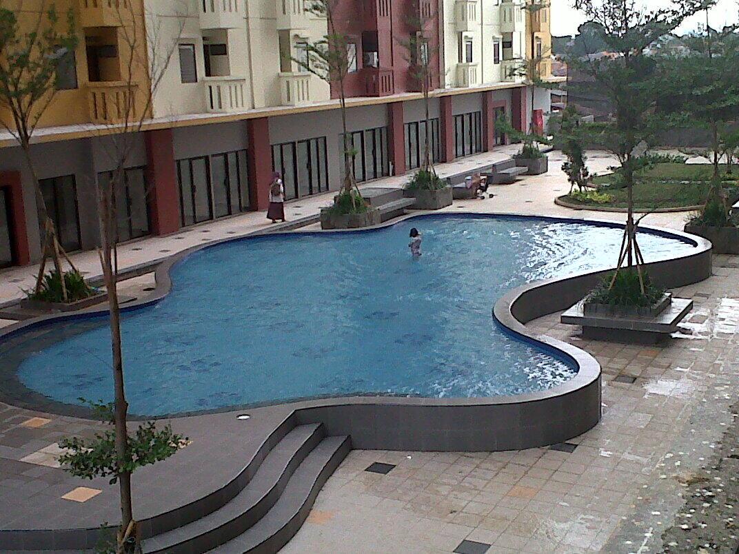 Dijual apartemen Casablanca Eat Residence 2 BR, lantai 2, full wallpaper, siap huni