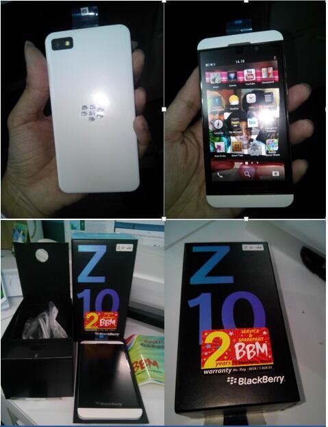 BB Z10 BNOB harga pas aja 4,5 juta.... (Jual Cepat Mendesak)
