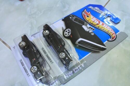 Hotwheels Dodge Charger Fast n Furious & Tomy Camaro & Alat Berat