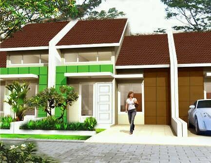 Rumah Depok Indent 3bulan Mampang Santika dkt KRL Depok Baru