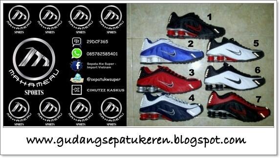 sports shoes 606ae 2b136 JUAL NIKE SHOX KW SUPER STOCK BARU SIZE LENGKAP, MURAH MERIAH BISA COD  JAKARTA