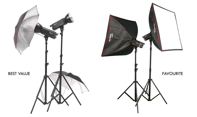 Jual Paket Studio Lighting Speedlite Tripodmonopod Ring Flash Stand Lampu Excell Kaki Foto Boom Softbox