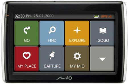 GPS MIO MOOV S500 bekas kondisi maknyussss