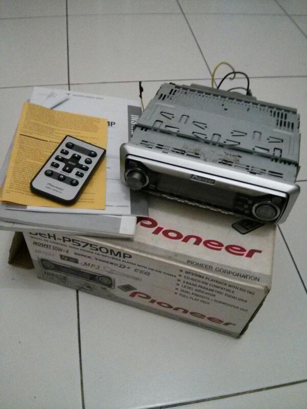 JUAL CEPAT : PIONEER DEH-P5750MP