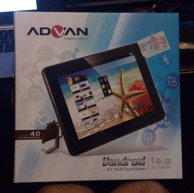 ADVAN T4i (II) 2nd Generation, cocok untuk gaming