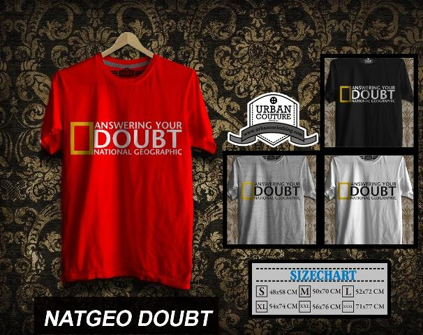 KAOS T-SHIRT DISTRO NATIONAL GEOGRAPHIC DISCOVERY CHANNEL Animal Planet READY STOCK !