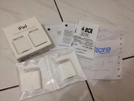 WTS Aksesoris iPad/iPhone (Smart Cover, Camera Connection Kit, dll) Second Jogja