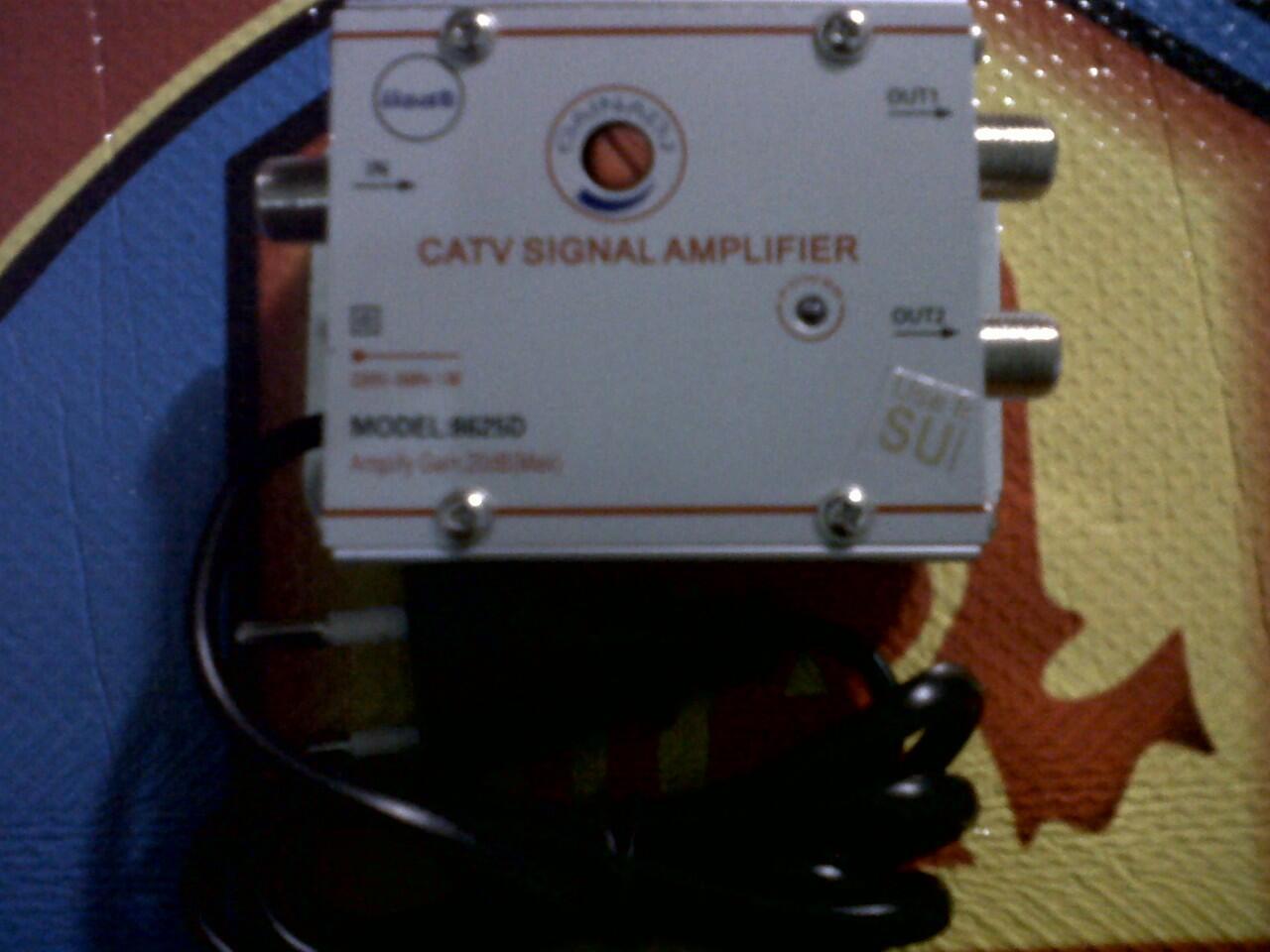 WTS : 2 Way Tv Signal Amplifier Ada Bonus