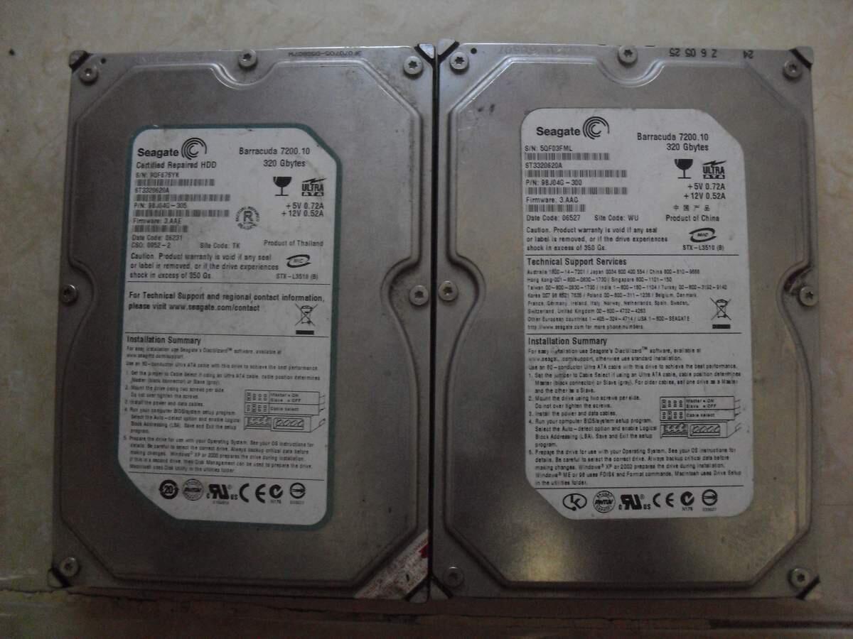 """HDD Seagate IDE/PATA 3.5"""" 320GB"""